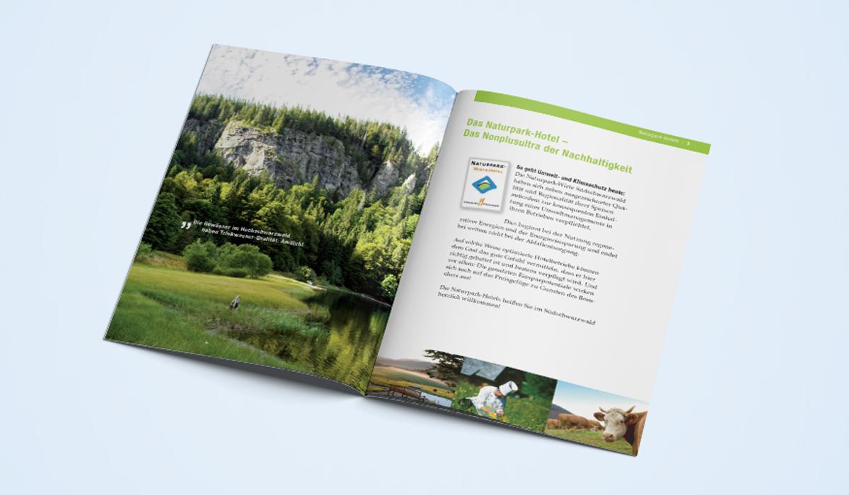 Innenseiten Naturpark-Hotels